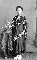 Sawano Hamamoto, Issei young woman age 16