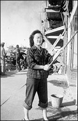 Akiko Kurose, Nisei woman