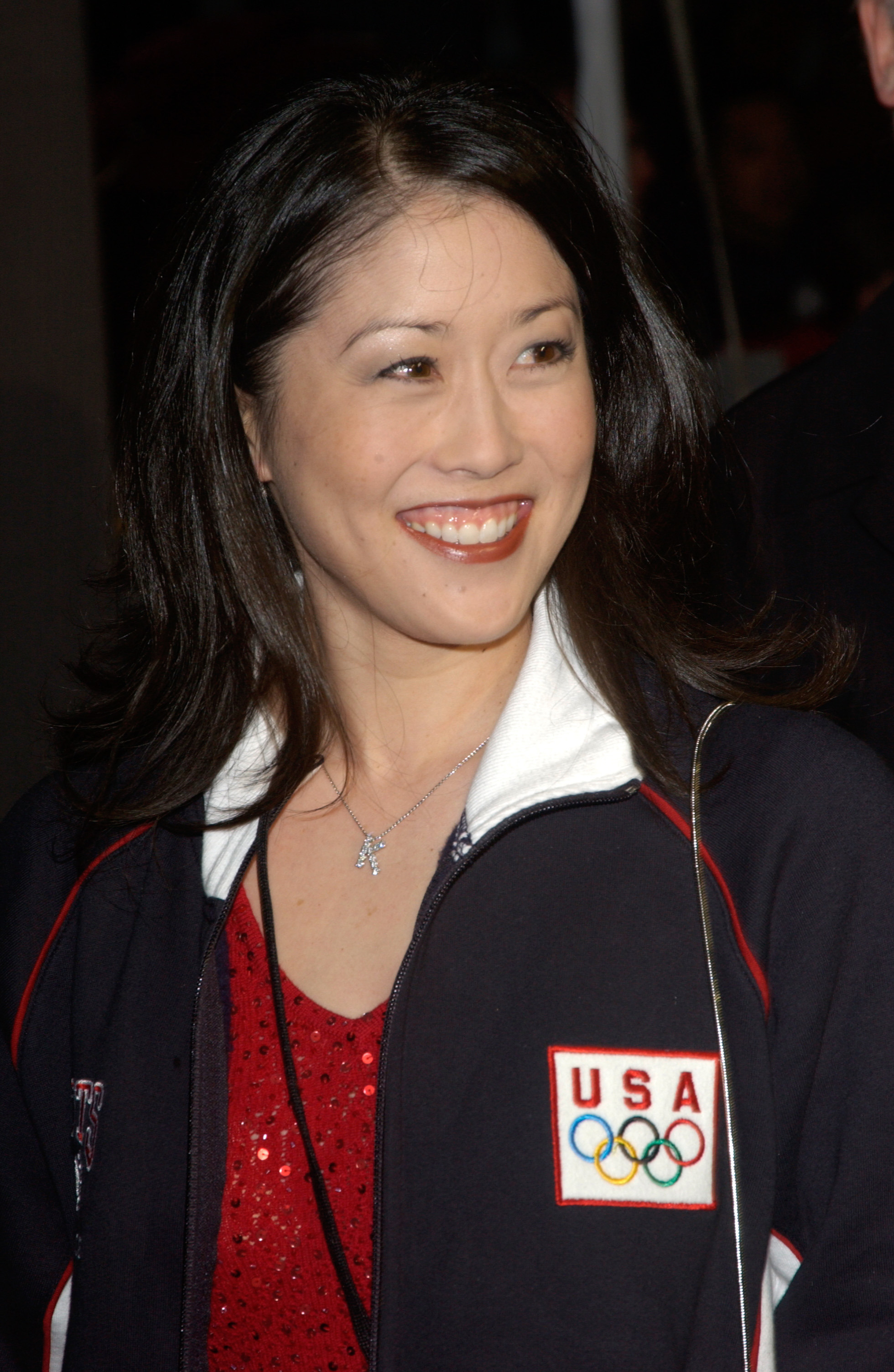 Olympic medalist and former professional figure skater Kristi Yamaguchi.